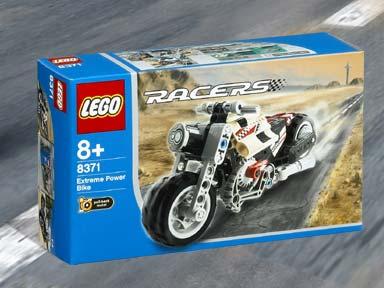 BrickLink - Set 8371-1 : Lego Extreme Power Bike [Racers:Drome ...