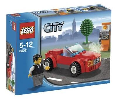Bricklink Set 8402 1 Lego Sports Car Towncitytraffic