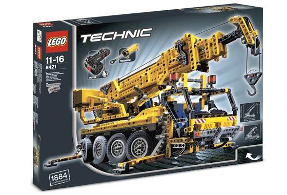 Bricklink Set 8421 1 Lego Mobile Crane Technicmodel
