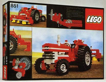 Bricklink Set 851 1 Lego Tractor Technicexpert Builder