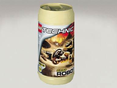 Lego 1x technic throwbot visor dust pattern 8513 x209pw1