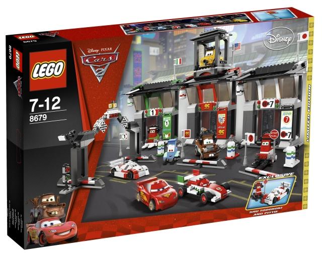 BrickLink - Set 8679-1 : Lego Tokyo International Circuit [Cars] -  BrickLink Reference Catalog