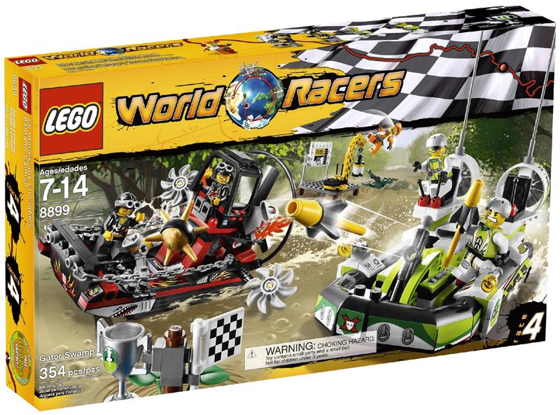 Bricklink Set 8899 1 Lego Gator Swamp World Racers Bricklink