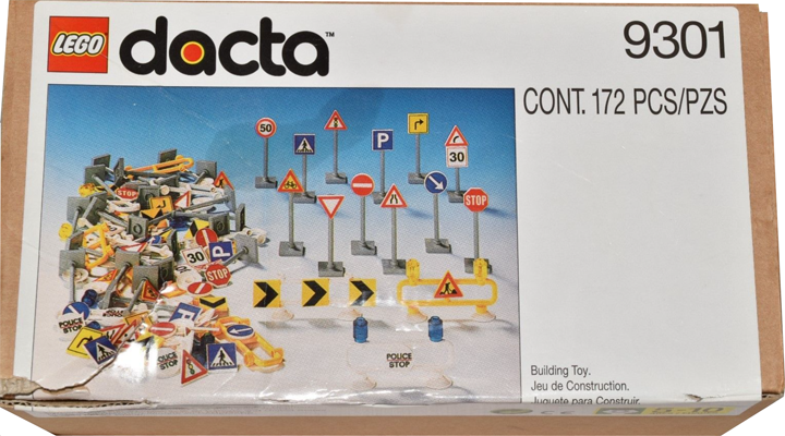 BrickLink - Set 9301-1 : Lego Road Signs [Educational & Dacta:Town] -  BrickLink Reference Catalog