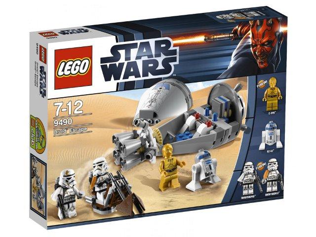 Bricklink Set 9490 1 Lego Droid Escape Star Warsstar Wars