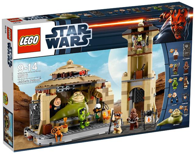 Lego Star Wars - Jabba Palotája (9516) - Forrás: bricklink