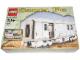 Original Box No: 10025  Name: Santa Fe Cars - Set I (mail or baggage car)