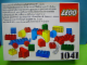 Original Box No: 1041  Name: Universal Building Set (Universal Set for boys and girls from 1 1/2 years)