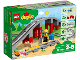 Original Box No: 10872  Name: Train Bridge and Tracks