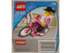 Original Box No: 1196  Name: Biker with Bicycle