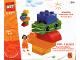 Original Box No: 1384  Name: Preschool Building Toy polybag