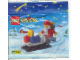 Original Box No: 1807  Name: Santa Claus and Sleigh polybag