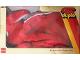 Original Box No: 1955  Name: Plush Red Bunny / Rabbit Storage Bag