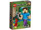 Original Box No: 21148  Name: Minecraft Steve BigFig with Parrot