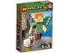 Original Box No: 21149  Name: Minecraft Alex BigFig with Chicken