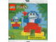 Original Box No: 2127  Name: Jack in the Box Promotional Set: Nanas polybag