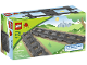 Original Box No: 2734  Name: Straight Track (Dark Bluish Gray)