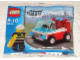 Original Box No: 30001  Name: Fireman's Car polybag