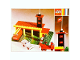 Original Box No: 347  Name: Fire Station with Mini Cars