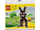 Original Box No: 40018  Name: Easter Bunny with Eggs polybag