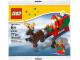 Original Box No: 40059  Name: Santa's Sleigh polybag
