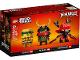 Original Box No: 40490  Name: Ninjago 10th Anniversary BrickHeadz