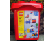 Original Box No: 4105  Name: 487 Piece Red Bucket