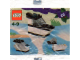 Original Box No: 4124  Name: Advent Calendar 2001, Creator (Day 16) - Police Boat