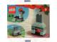 Original Box No: 4124  Name: Advent Calendar 2001, Creator (Day  3) - Fireplace