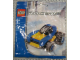 Original Box No: 4309  Name: Blue Racer polybag