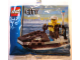 Original Box No: 4912  Name: Police Jet Ski polybag