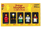 Original Box No: 5000437  Name: Vintage Minifigure Collection Vol. 1 - 2012 Edition
