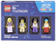 Original Box No: 5004421  Name: Minifigure Collection, Musicians (TRU Exclusive)
