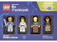 Original Box No: 5004422  Name: Minifigure Collection, Warriors (TRU Exclusive)