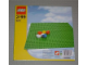 Original Box No: 626  Name: Baseplate, Green