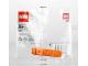 Original Box No: 630  Name: Brick Separator, Orange