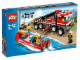 Original Box No: 7213  Name: Off-Road Fire Truck & Fireboat
