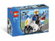 Original Box No: 7235  Name: Police Motorcycle - Blue Sticker Version