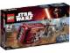 Original Box No: 75099  Name: Rey's Speeder
