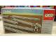 Original Box No: 7854  Name: 8 Straight Electric Rails Gray 12v
