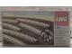 Original Box No: 7855  Name: 8 Curved Electric Rails Gray 12v
