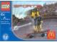 Original Box No: 7921  Name: McDonald's Sports Set Number 7 - Gray Vest Skateboarder polybag