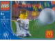 Original Box No: 7923  Name: McDonald's Sports Set Number 1 - White Soccer Player #4 polybag