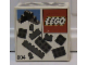 Original Box No: 804  Name: Extra Bricks Black