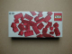 Original Box No: 838  Name: Red Roof Bricks Parts Pack, 45 Degree