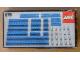 Original Box No: 876  Name: Blue Beams with Connector Pegs
