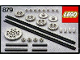 Original Box No: 879  Name: Gear Wheels with Chain Links (Gear Wheels & Chainlinks)