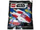 Original Box No: 912060  Name: A-wing - Mini foil pack #2