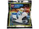 Original Box No: 952001  Name: Policeman and Motorcycle foil pack #2