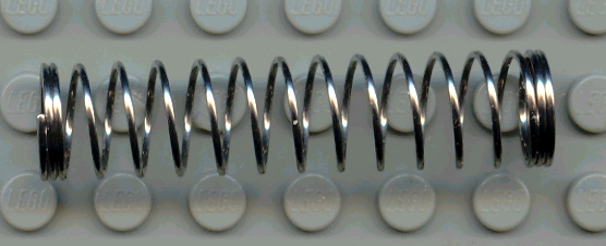 BrickLink - Part 110a : Lego Technic, Shock Absorber 9.5L, Spring ...